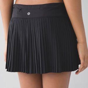 """Lululemon """"Pleat To Street"""" Skirt!!"""